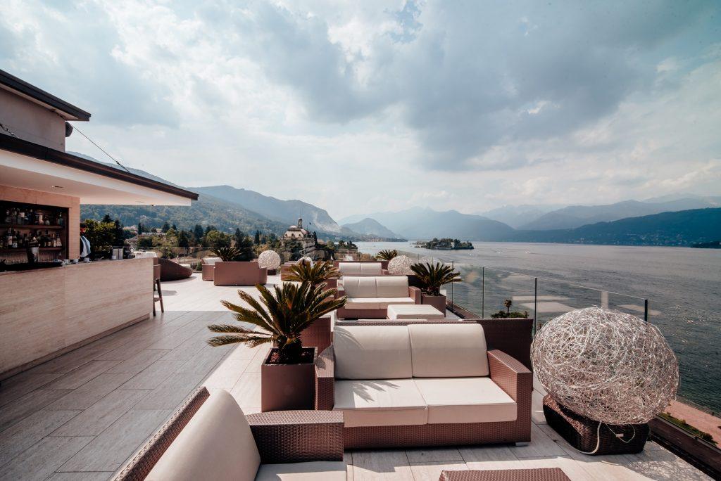 Sky Bar dell'Hotel La Palma