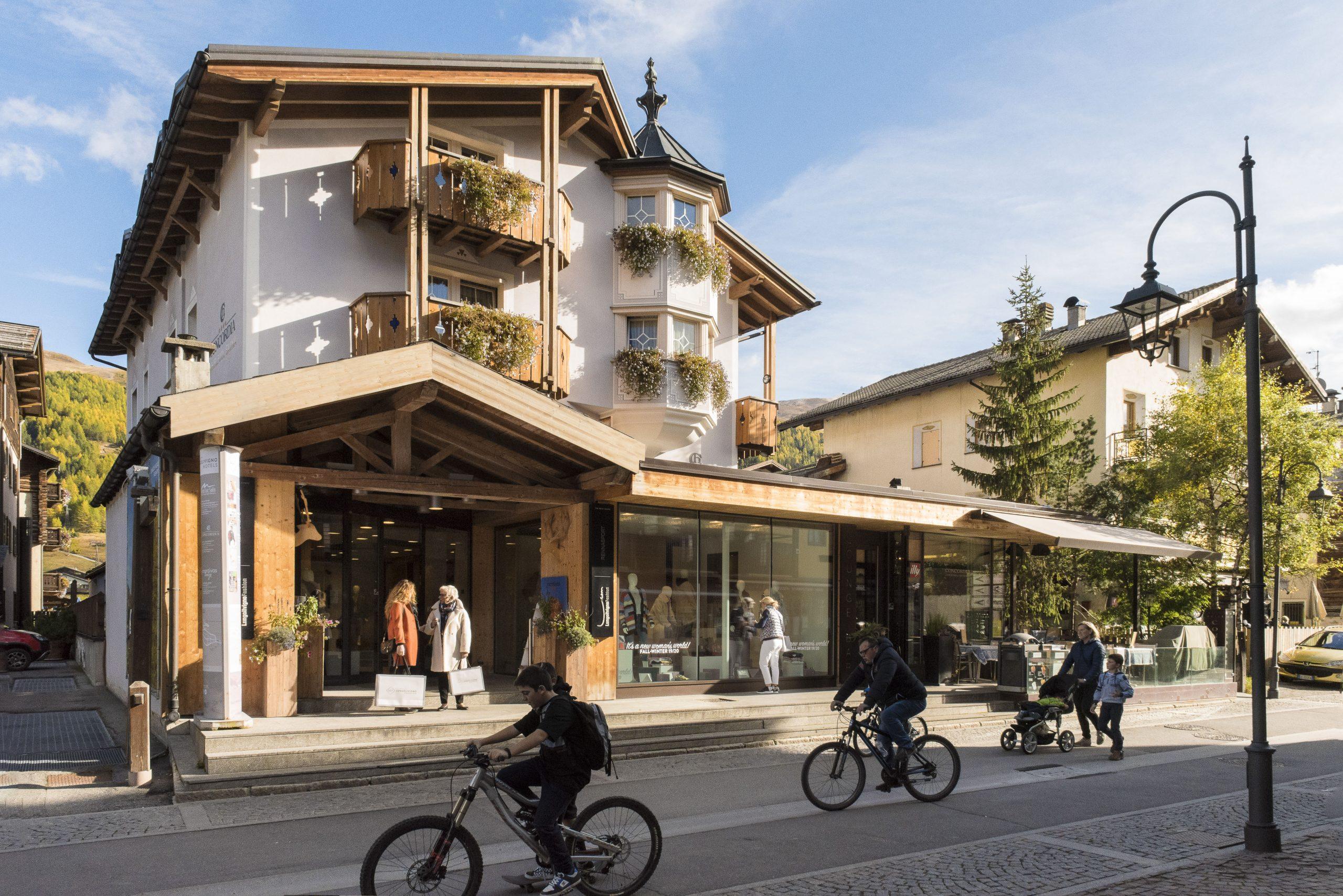 Lungolivigno- Hotel Concordia