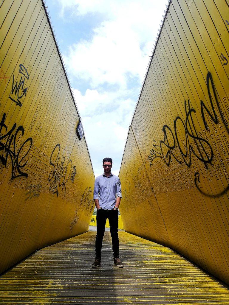 7 Busi Damiano Yellow Bridge di Rotterdam
