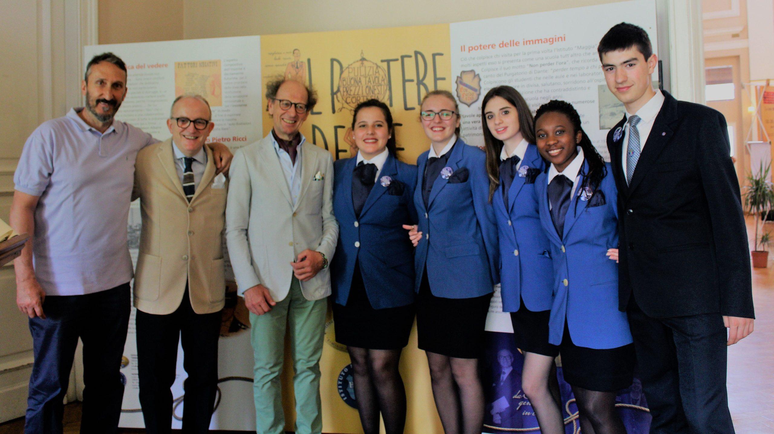 """Delegazione della """"Scuola di Stresa"""" al convegno annuale di Ospitalia. L'occasione è stata a Levico  nei giorni: 22-23-24 aprile 2018"""